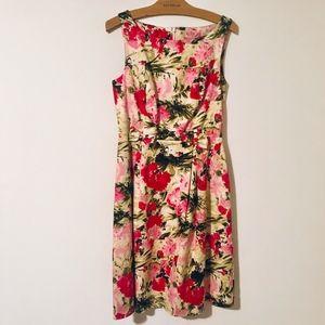 Peter Nygard Floral Sleeveless Dress